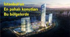 İstanbul'un konut fiyatlarının en pahalı bölgeler açıklandı.