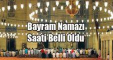İstanbul İlçelerine Göre Bayram Namazı Saatleri