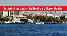 İstanbul'un yaşam kalitesi en yüksek ilçesi Beşiktaş