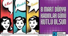 KADIKÖY'DE 8 MART ETKİNLİKLERİ