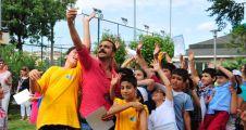 Kadıköy Yaz Spor Okulu Sertifika Töreni'nde Selfie