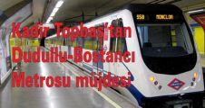 Kadir Topbaş'tan Dudullu-Bostancı metrosu müjdesi