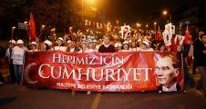 """""""Türkiye"""" Maltepe'de madenciler için yürüdü"""