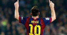 Messi  rekor'a doymuyor