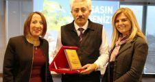 """Ataşehir'de Muhtarlardan """"Atık Yağ Toplama"""" kampanyasına  destek"""