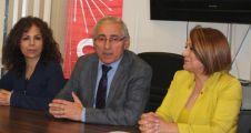 Saadet Garan, CHP 1. Bölge Milletvekili aday adaylığını açıkladı.
