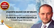 Turan Durmuşoğlu, Ak Parti Ataşehir ilçe Başkan adaylığını açıkladı