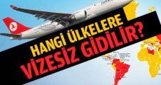 Vize istemeyen ülkeler Listesi 2015