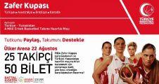 Ataşehir'de FIBA-Kadınlar Zafer Kupası bilet yarışması