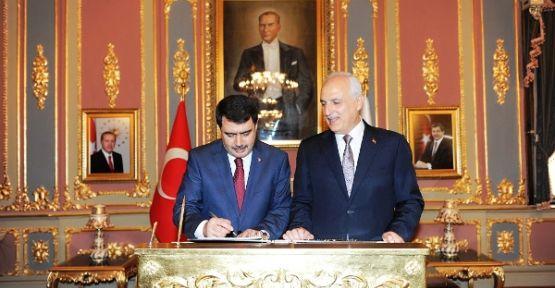 Vasip Şahin İstanbul Valiliği Görevine Başladı