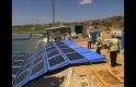 Göl Üzerine Döşenen Güneş Panelleri ile Elektrik Enerjisi Üretimi