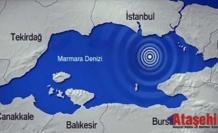 İstanbul'da 10 saatte 5 deprem