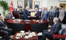 MHP Lideri Bahçeli, Çankırı Belediyesi'ni Ziyaret Etti