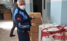 Maltepe'de kaçak maske operasyonu