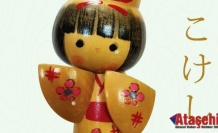 Kokeşi bebekleri. Japon ahşap bebekleri