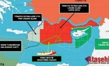 Türkiye'nin Doğu Akdeniz'deki yetki haritası