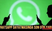 WhatsApp için son gün!