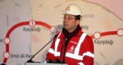 Ekrem İmamoğlu Dudullu Bostancı Metro Hattı inşaatında incelemelerde bulundu