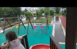 Ataşehir Bülent Ecevit Parkında Yağmura yakalandık