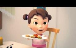 Gıdanı Koru, Çocuklar için gıda israfını azaltma üzerine animasyon video, Kısa versiyon 3