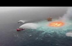 Meksika Körfezi'nde Deniz sualtı petrol boru hattında patlama meydana geldi