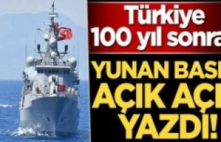 Türkiye 100 yıl sonra geri döndü