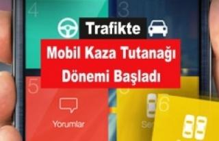 """Trafikte """"Mobil Kaza Tutanağı"""" Dönemi..."""
