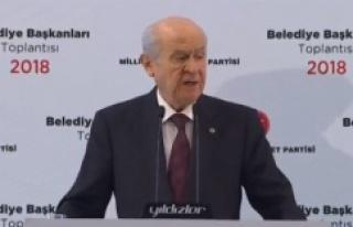 Devlet Bahçeli, İstanbul, İzmir ve Ankara'da...