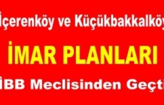 İçerenköy ve Küçükbakkalköy İmar Planı İBB...