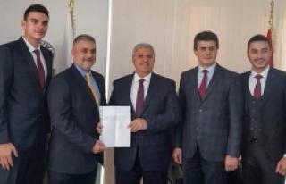 Mehmet Yılmaz Belediye Başkanlığı aday adaylık...