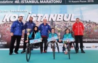VODAFONE İSTANBUL MARATONU'NDA 40 YILIN COŞKUSU...