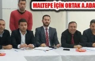 Zeynettin Aydın, 'Maltepe'yi Cumhurbaşkanı'na...