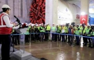 Ümraniye-Ataşehir-Göztepe metrosunun 2022'de...