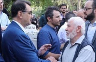 Enerji Tabii Kaynaklar Bakanı Bakan Dönmez'in...