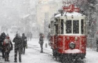 İSTANBUL'A BEKLENEN KAR YAĞIŞI GELİYOR