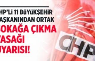 CHP'Lİ 11 BÜYÜKŞEHİR BAŞKANI BİR KEZ DAHA...