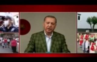 Cumhurbaşkanı Erdoğan, tüm yurtta okunan İstiklal...