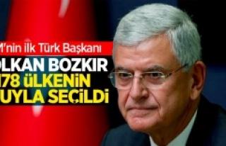 BM 75. Genel Kurul Başkanlığı'na Volkan Bozkır...