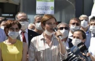 CHP'li Kaftancıoğlu, Kanal İstanbul Projesi için...