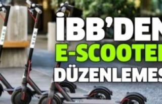 İBB'DEN, ELEKTRİKLİ KAYKAY (E-SCOOTER) KİRALAMA...