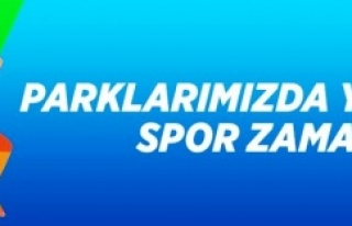 ATAŞEHİR'DE EKİM AYINDA PARKLARDA SPOR DEVAM...