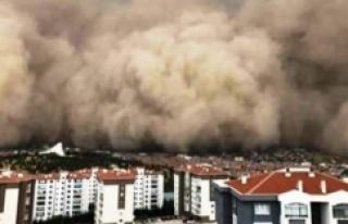 Meteoroloji'den 7 il için toz fırtınası uyarısı!