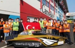 Türkiye'den ödül alan tek araç İTÜ'nün...