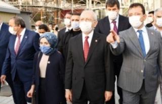 CHP GENEL BAŞKANI KILIÇDAROĞLU KADIKÖY'Ü ZİYARET...