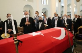 Cumhurbaşkanı Erdoğan Markar Esayan'ın cenaze...