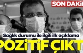 Ekrem İmamoğlu'nun corona virüsü testi pozitif...