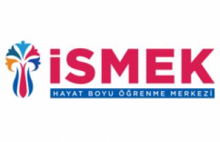 İSMEK'TE YÜZ YÜZE EĞİTİM KAYITLARI 11 KASIM'DA...