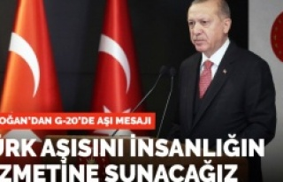 Türk Aşısını insanlığın hizmetine sunacağız