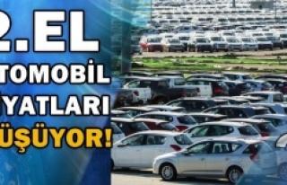 2. El Otomobil fiyatları düşmeye devam ediyor!