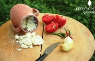 Çankırı Küpecik Peyniri'nin Örnek Üretimi...